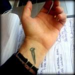 nail tattoo