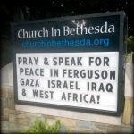 speak and pray peace