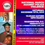 national march on police violence