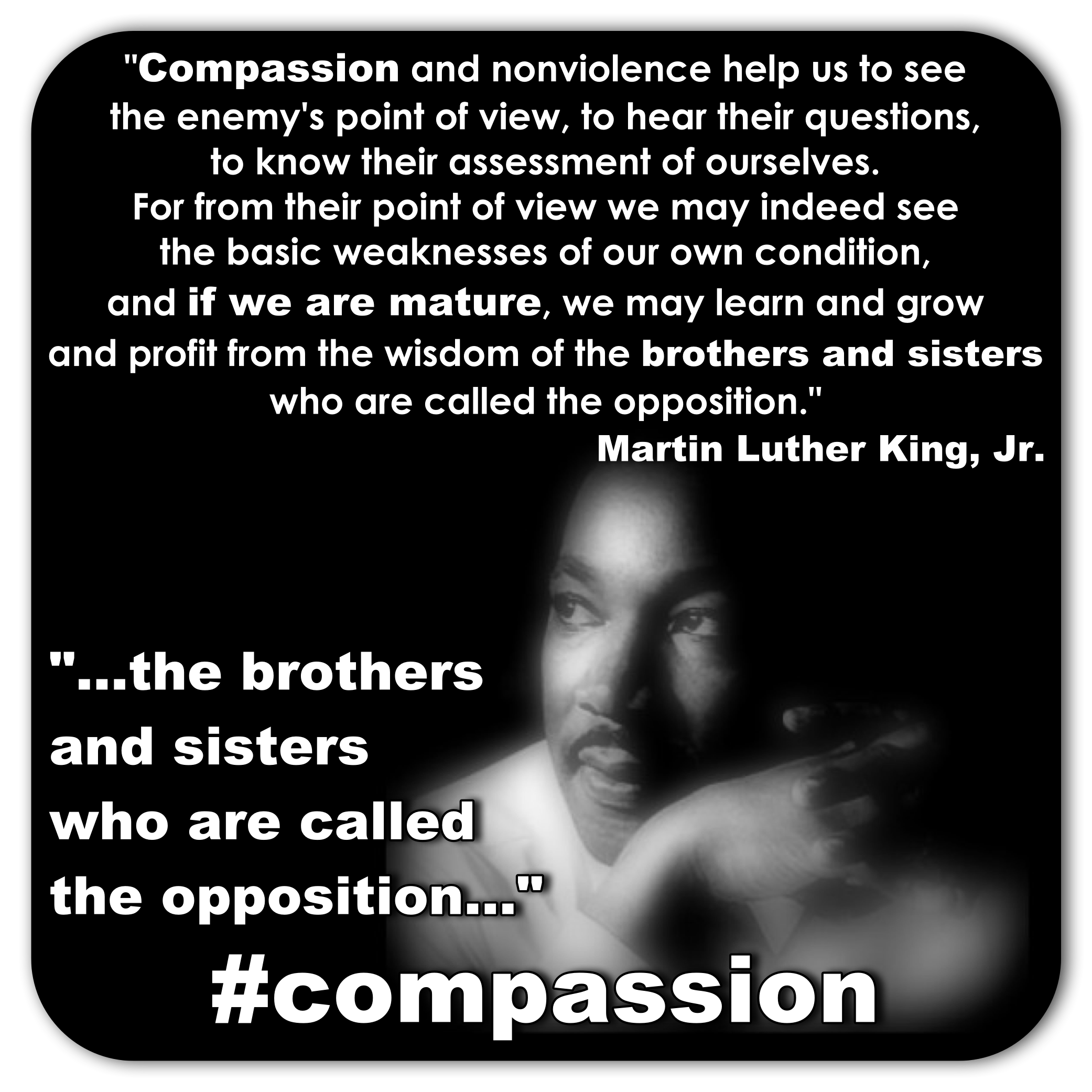 MLK Compassion Quote « toddthomas net