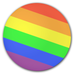 Rainbow Button