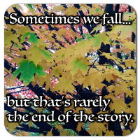 sometimes we fall