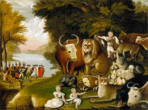 edwrd hicks peaceable kingdom