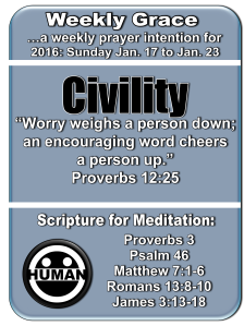Weekly Grace Jan 17 to 23 2016
