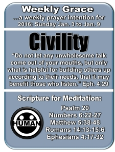 Weekly Grace Jan 3 to 9 2016