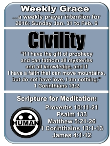 Weekly Grace Jan 31 2016